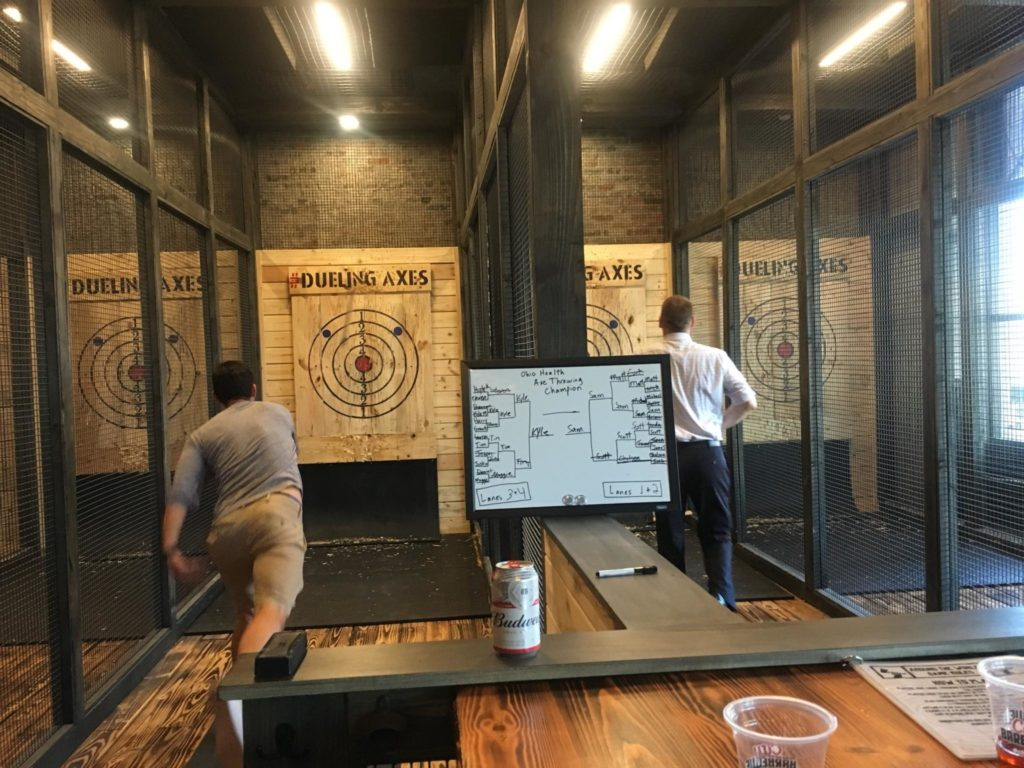 Axe Throwing Tournament