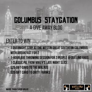 Columbus staycation